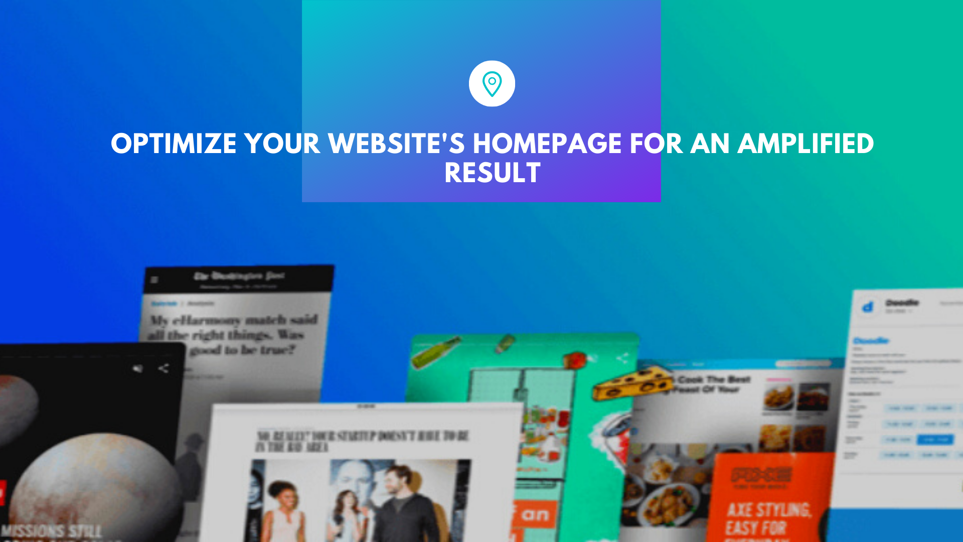 Optimize Your Website's Homepage for an Amplified Result