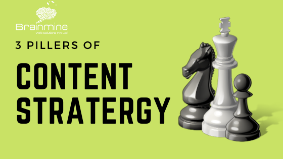 Three Pillars of Content Strategy